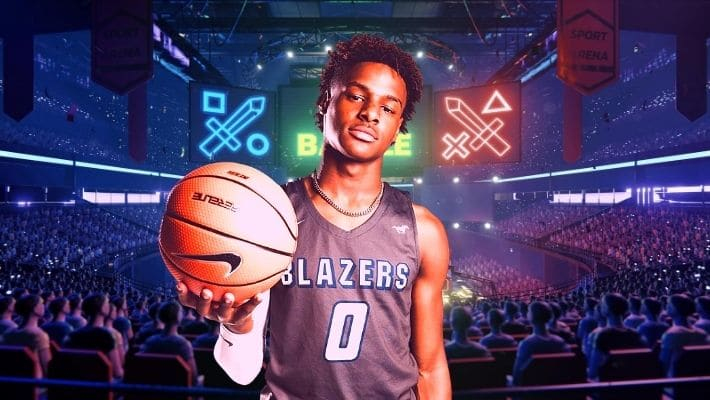 Bronny James, Son of LeBron James Joins Professional E-sports Team
