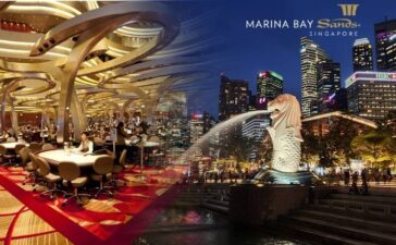 The Marina Bay Sands Casino in Singapore Closed Due to a Virus Outbreak